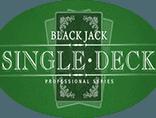 Слот Single Deck Blackjack Professional Series